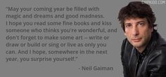 More wisdom from Neil.