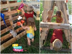 let the children play: It's Playtime: Reuse, Recycle