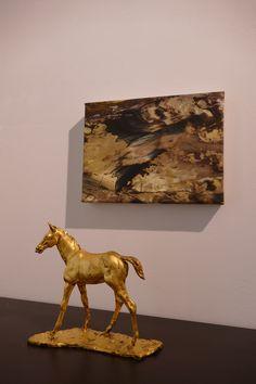 Galerie Amart Austrian Modern Art - INTRODUCING ERZSEBET NAGY SAAR Modern Art, Moose Art, Gallery, Animals, Art Production, Animales, Roof Rack, Animaux, Animal