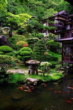 #Botanicalgardens Japanese Garden Landscape, Small Japanese Garden, Japanese Garden Design, Japanese Style, Japanese Garden Backyard, Japanese Koi, Japanese House, Zen Garden Design, Landscape Design