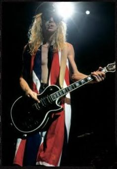 The late, great Steve Clark of Def Leppard