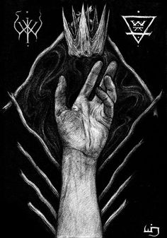 dramira:  He Beheld His Crown of Earth and Bone - 2014 byUnknown Relic - The Artwork of Stephen Wilson