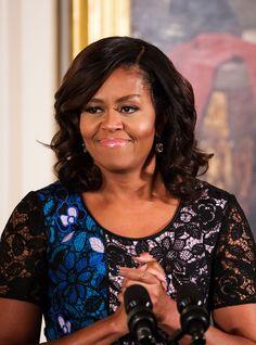 Michelle Obama Just Got The Fiercest Power Bob +#refinery29