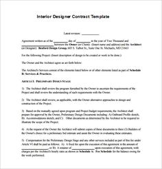 7 Best Styling Contract Examples Images Contract Contract Template Business Design