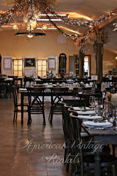 Hand-crafted Farm Tables accommodated 120 guests at this Union Hill Inn wedding, Sonora, CA