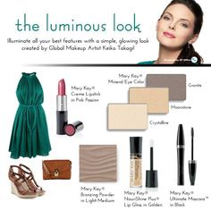 Want to try the luminous look today? Call or Text 786-520-5160 #MaryKay #Makeup #Skincare