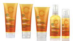 Linha Vitamina C The Body Shop