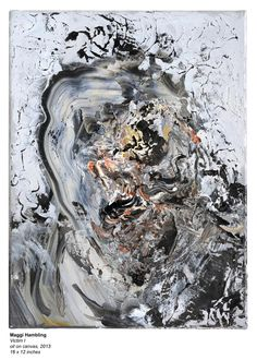 Copyright Maggi Hambling, Photograph by Douglas Atfield Abstract Portrait Painting, Surrealism Painting, Figure Painting, Abstract Art, Abstract Paintings, Portrait Paintings, Woman Painting, Portraits, Maggi Hambling