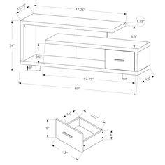 29 mejores imágenes de Planos: Muebles para Oficina