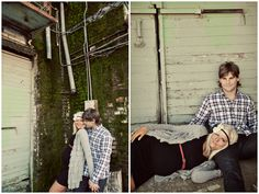 more from that couple..but love the laying down shot, maybe good for me and Jay in front of the barn? idk.