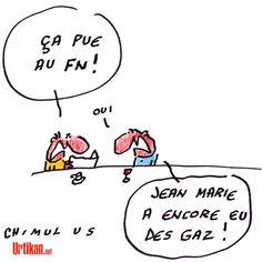 Jean-Marie Le Pen : un point de détail du FN ? - Dessin du jour - Urtikan.net