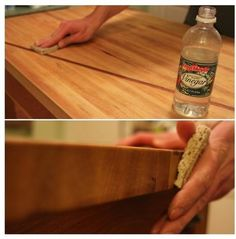 Keep butcher block counters and boards looking sharp as a knife — and sanitized for safe food prep — with this advice from a pro woodworker