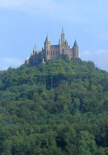 Hohenzollern Castle, the Black Forest, Germany