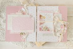 Фотография Baby Girl Scrapbook, Baby Scrapbook Pages, Mini Albums, Diy Crafts For Girls, Mini Album Tutorial, Mini Scrapbook Albums, Scrapbook Layouts, Baby Album, Handmade Books