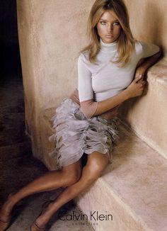 Calvin Klein - Steven Meisel - Natalia Vodianova - 2004SS - ad  campaign -  fashion ads