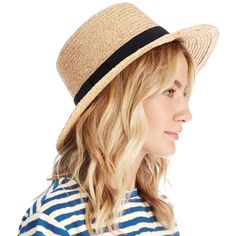 Sole Society Braided Straw Sun Hat ($30) ❤ liked on Polyvore featuring accessories, hats, natural, woven straw hat, straw sunhat, sole society, straw hats and straw sun hat