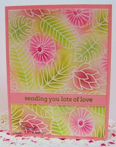 Pretty Pink Posh, Challenges, Stencils, Stitch, Blog, Cards, Full Stop, Blogging, Templates