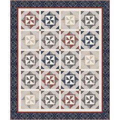 Windham Fabrics Kingston Earl Grey Quilt Kit