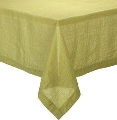 "Helena Pear 60""x90"" Tablecloth  | Crate and Barrel"