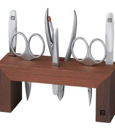 Zwilling 97195-000 Manicure station, Thermo-ashwood, brown, 6 pcs.