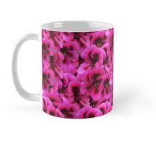 Magenta #geranium Flowers Bouquet #mug