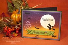 Spooky Night Sky Card (Stampin' Up! Holiday Catalog Sneak Peak)