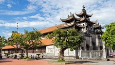 Phat Diem Cathedral- the combination between the Oriental pagoda architecture and gothic architecture of the West.