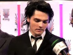 Image result for gerard way and brendon urie interaction