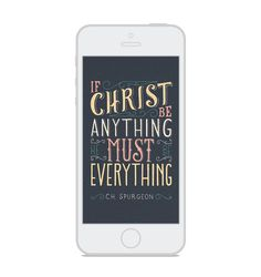 Christ is Everything — Scripture Type Scripture Wallpaper, Pattern Wallpaper, Savior, Everything, Bible Verses, Christ, Wallpapers, God, Iphone