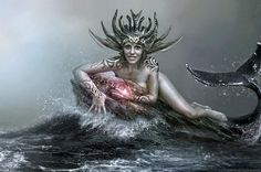 See more awesome manips from AP Gallert artist, Andrey Zavgo here: http://www.advancedphotoshop.co.uk/image/52602/mermaid