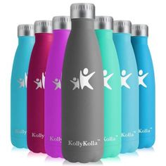 The 11 Best Reusable Water Bottles Reviews & Buying Guide Hydro Flask Water Bottle, Best Reusable Water Bottle, Best Water Bottle, Stainless Steel Water Bottle, Stuff To Buy, Yoga, Reusable Water Bottles, Insulation, Jars