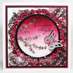 All occasion card made with OCL Oriental Garden and In Flight