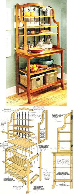 Backers Rack Plans - Furniture Plans and Projects | WoodArchivist.com