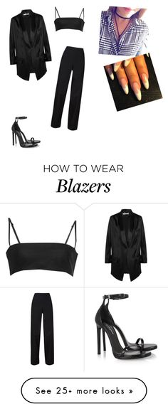 """""""Untitled #2355"""" by oreabe on Polyvore featuring Givenchy, Alexander Wang, Lemaire and Yves Saint Laurent"""