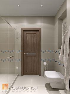 Фото: Дизайн душевой комнаты - Интерьер квартиры в современном стиле, ЖК «Солнечный»