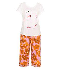 Peter Alexander - Women - PJ Sets - Gingerbread House PJ Set