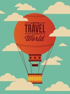 hot air balloons illustrations - Google Search