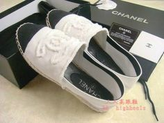 CHANEL Canvas shoes <3
