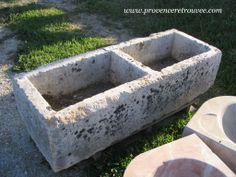 Double old trough