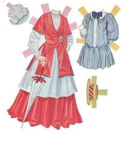 Chitty Chitty Bang Bang paper dolls, #1982 Whitman 1965 (8 of 12)   Fotografías Muñecas   Muñecas, muñecas de imágenes fotografías
