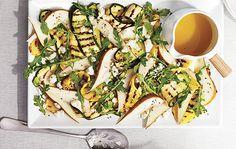 Une salade qui se mange en repas léger ou en accompagnement pour des viandes grillées.
