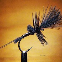 Cripple in Black #flytyingporn #flytyingaddict #flytying #flugbindning #fluebinding #fluefiske #flugfiske #flyfishing #newzealand #catchandrelease #trout #dryfly #mayfly #barbless #whitingfarms #dryordie #troutcandy #deercreekresin #deercreekflies #fishermansloft @whitingfarms #culdecanard #tiemco