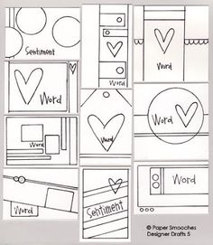 Paper Smooches: Designer Drafts