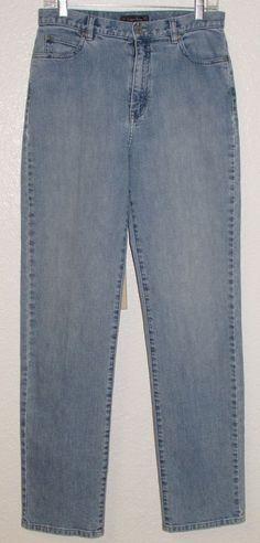 06a2cb0e Indigo Palms womens Jeans 10L Tommy Bahama Skinny Straight Stretch Lt Blue  30x34 #IndigoPalms #StretchSlimSkinnyStraightLeg