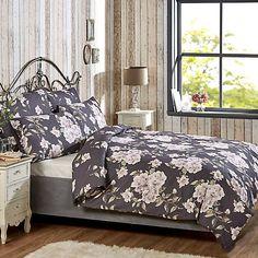 Vantona Home Laura Duvet Set Bed Duvet Covers, Duvet Sets, Duvet Cover Sets, Grey Bedroom Decor, English Heritage, Charcoal Color, Pillow Cases, Home And Garden, Interior