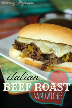 Italian beef roast is so incredibly flavorful and has a little bit of a kick to it. This is now officially my new favorite way to do an italian beef roast.