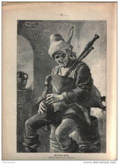 Ein lustiger Geselle (R.Weigand)  /  Artikel, entnommen aus Zeitschrift / 1896