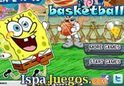 Spongebob Basketball: Juego de bob esponja, ayuda a encestar todo los tiros que puedas, presiona en el momento justo y tira el balon, juegos de bob esponja http://www.ispajuegos.com/jugar5491-Spongebob-Basketball.html