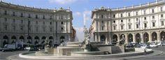 piazza del repubblica, rome