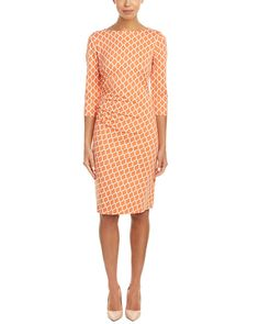 I don't love the color, but a sheath dress with well-placed rouching is nice Resort Wear Dresses, Dresses For Sale, Dresses For Work, 1 Day Sale, J Mclaughlin, Boutique, Sheath Dress, Stitch Fix, Style Me